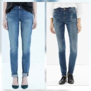 Madewell Alley Strait Jeans